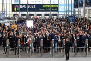 Der Besucherandrang auf der BAU 2019 war groß. Bild: Messe München