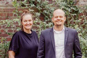 Friederike Asche und Daniel Fruhner, Entwickler eines partizipativen Online-Tools für die barrierefreie Gebäudeplanung
