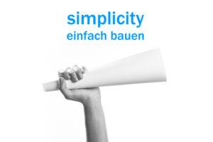 Key-visual Architektur-Podcast simplicity