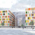 Bürogebäude als Holzmodulbau für den Deutschen Bundestag von sauerbruch hutton