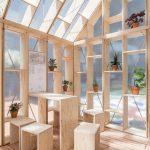 Der Multifunktionsraum Plug-In gewann den Architekturwettbewerb der Technischen Universität Berlin. Bild: Johannes Belz