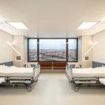 Infektionssicheres Zweibettzimmer im Krankenhaus. ild: IIKE / Tom Bauer 2020