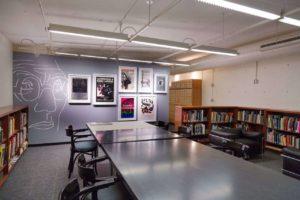 Leseraum der Special Collections der GSD, Harvard University, zu sehen bei den saai archive talks 2021
