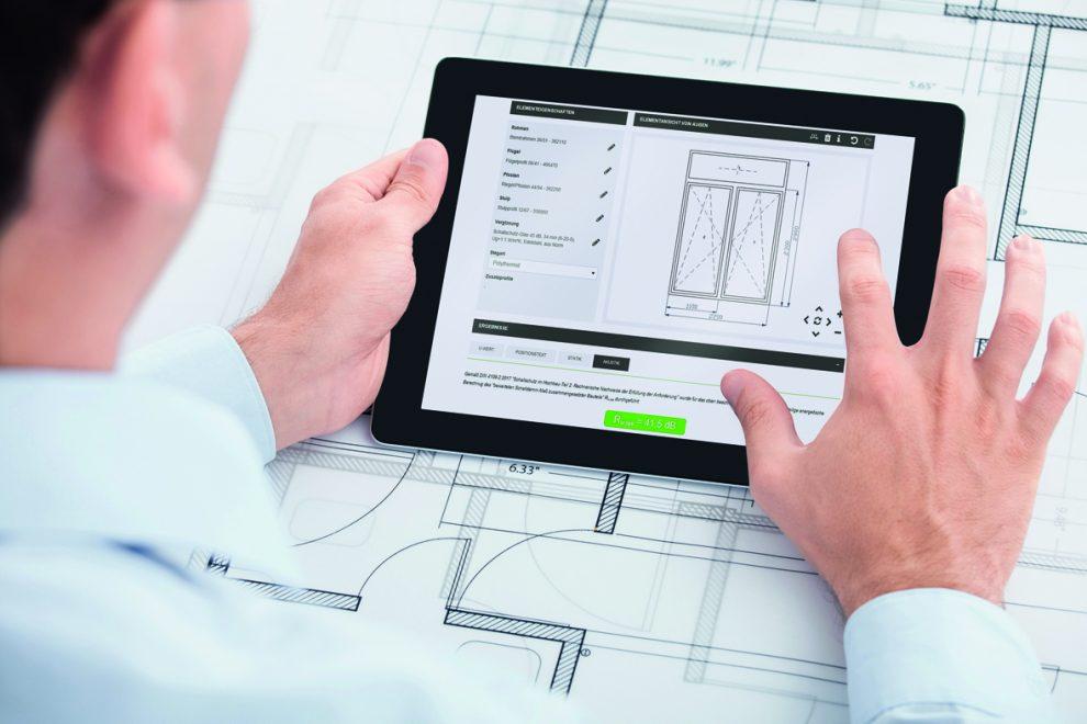 neue akustik software f r architekten und metallbauer. Black Bedroom Furniture Sets. Home Design Ideas