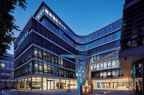 Siemens Headquater. Bild: Siemens AG