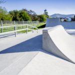 Skate-Anlage aus Spritzbeton
