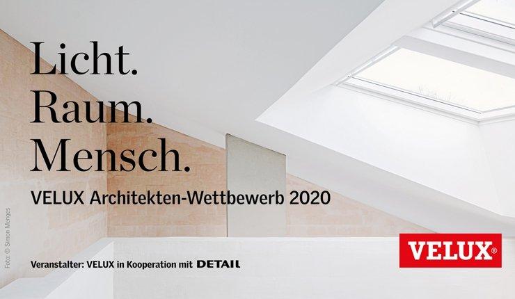 Velux Architekten-Wettbewerb 2020
