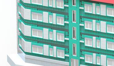 Fassadenelemente, die nicht nur die Wärmedämmung sondern auch Komponenten der Heizungs- und Lüftungstechnik enthalten, sind ein Thema bei LowEx-Bestand. Bild: Fraunhofer ISE