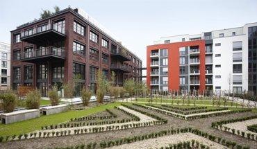 """Düsseldorfer Stadtquartier """"Les Halles"""". Bild: BWP e.V."""