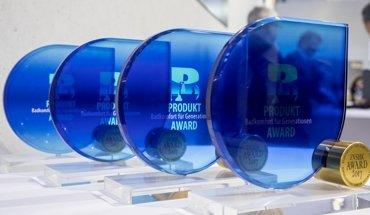 Beim diesjährigen Produkt-Award Badkomfort für Generationen wurden vier Auszeichnungen verliehen. Foto: ZVSHK