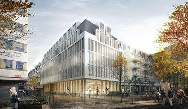 Das Düsseldorfer Architekturbüro HPP ist mit der umfangreichen Sanierung der PSD Bank Köln beauftragt. Foto: HPP Architekten