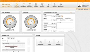 Die Wuppertaler Kobold Management Systeme GmbH bietet seit Mai sein Controlling- und Projektprogramm Kobold Control als Small Business Paket an. Bild: Kobold Management Systeme GmbH